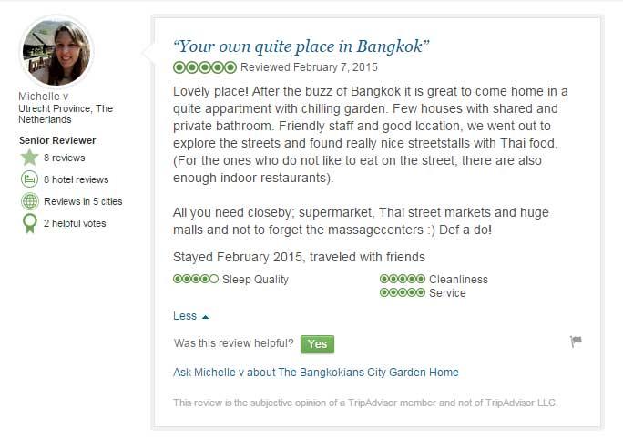 The Bangkokians - Guest Reviews
